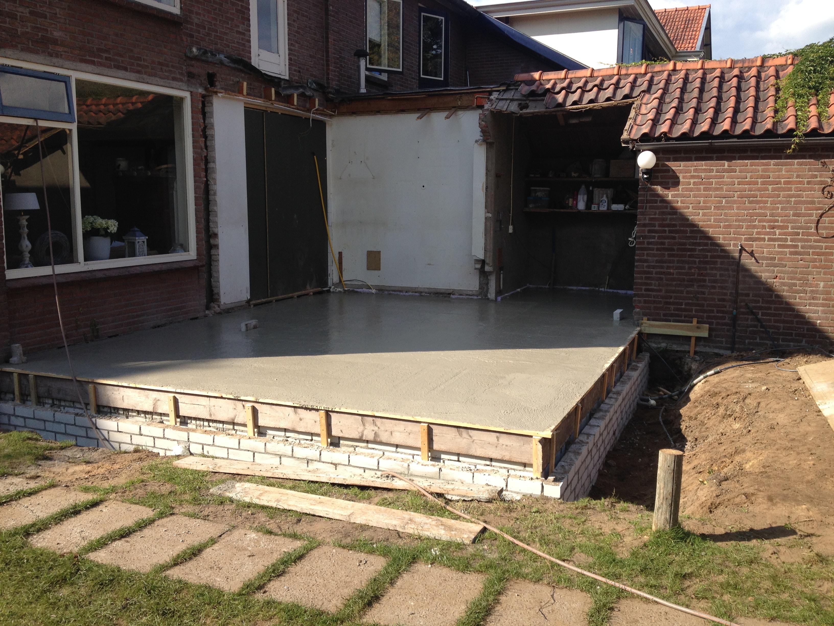 Doors Uitbouw Keuken : Keuken aanbouw u bouwbedrijf huisman